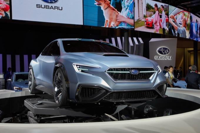 Subaru Viziv Performance Concept: il look che anticipa la prossima WRX STI