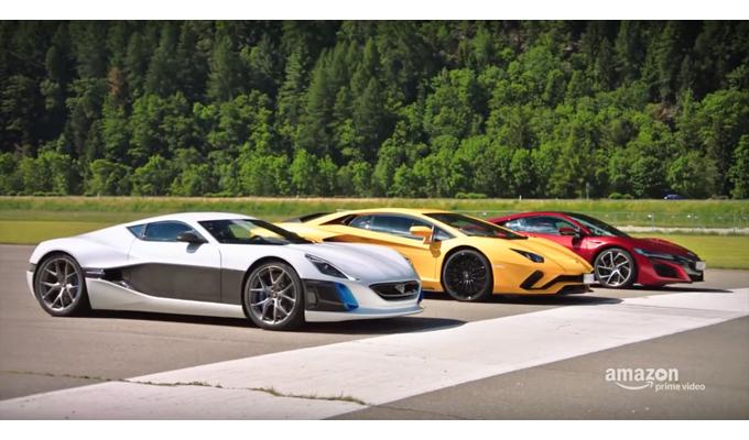 The Grand Tour: sfida tra Lamborghini Aventador S, Honda NSX e Rimac Concept One [VIDEO]