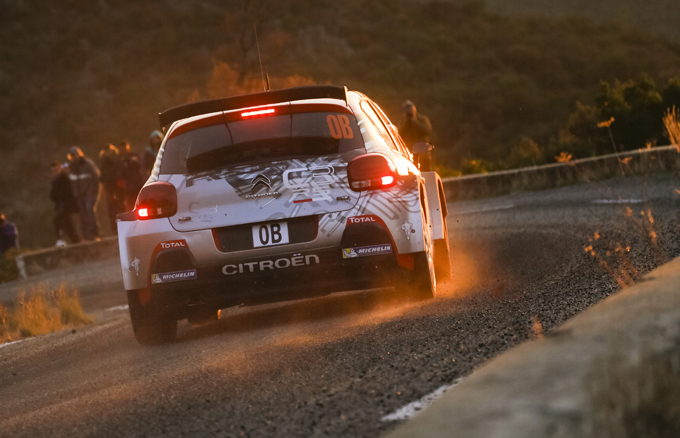 Rallye du Var, Citroen: prova positiva per la C3 R5