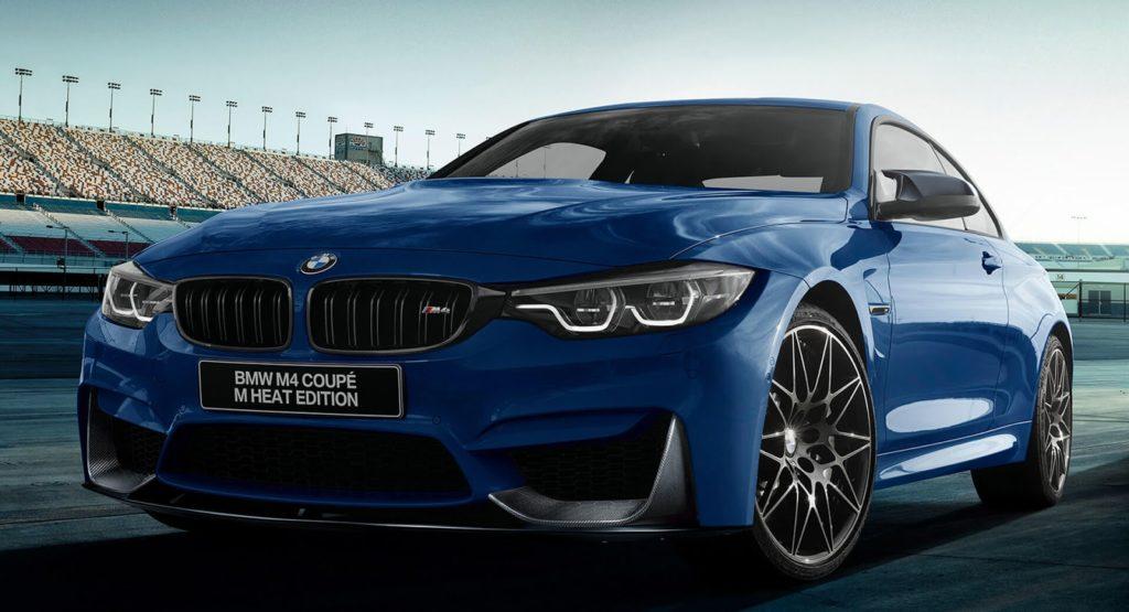 BMW M3 e M4: svelata la serie speciale M Heat Edition