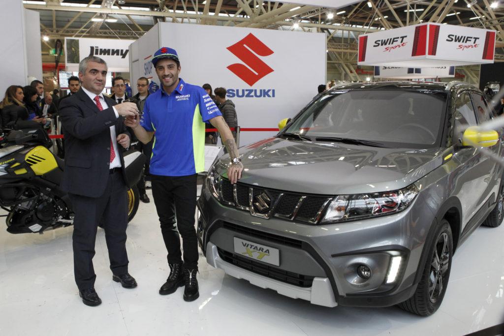 Suzuki Vitara XT: la scelta di Andrea Iannone