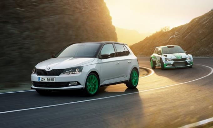 Skoda Fabia: edizione limitata per celebrare il titolo nel WRC2