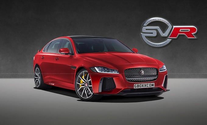Jaguar: E-Pace, XF, XJ presto in versione SVR? [RENDERING]