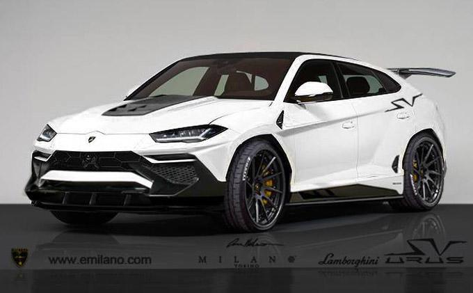 Lamborghini Urus immaginata in versione Performante [RENDERING]