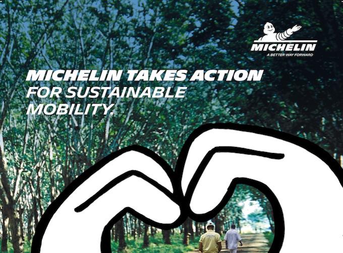 Michelin riceve l'European Sustainability Award 2018