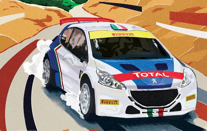Rally Il Ciocchetto: Paolo Andreucci al via della 26esima edizione