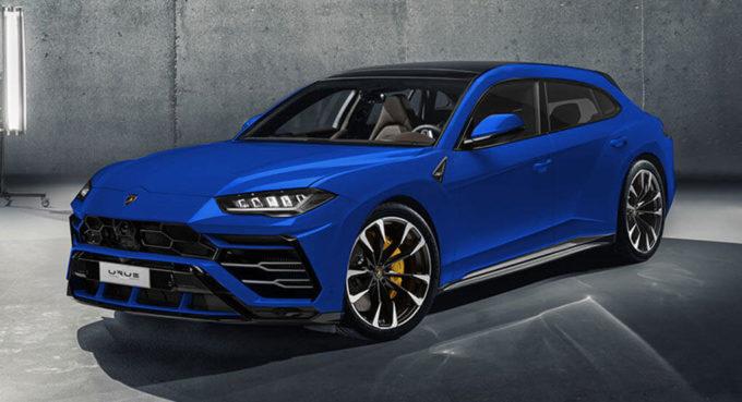 Lamborghini Urus: in versione Shooting Brake sfiderebbe la Porsche Panamera Sport Turismo [RENDERING]