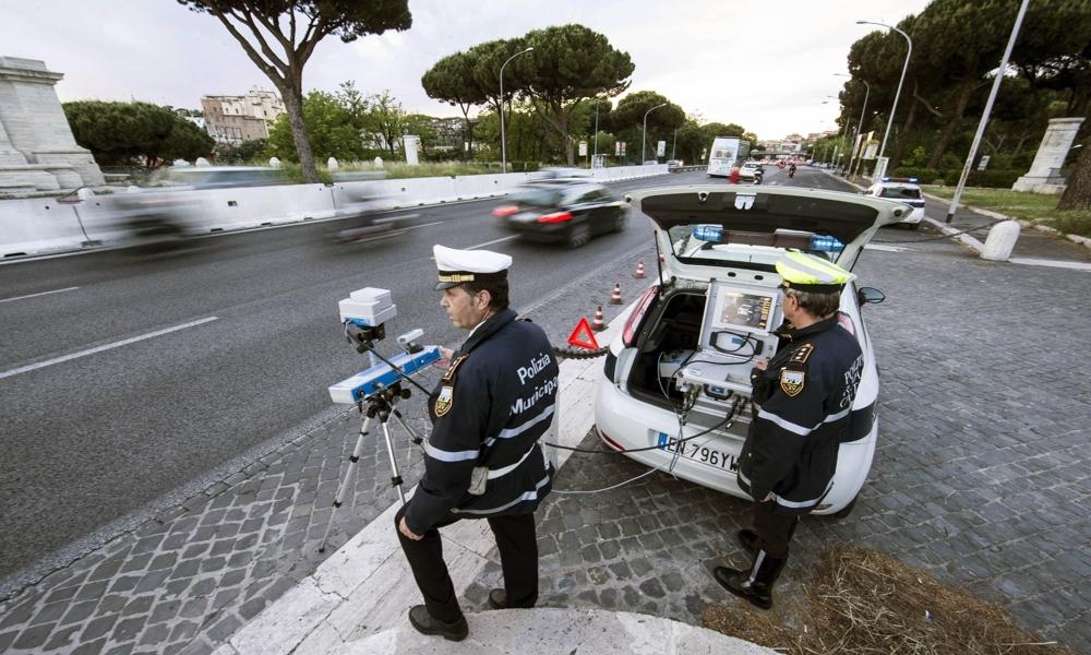 Multe: da gennaio a Roma arriva il super autovelox