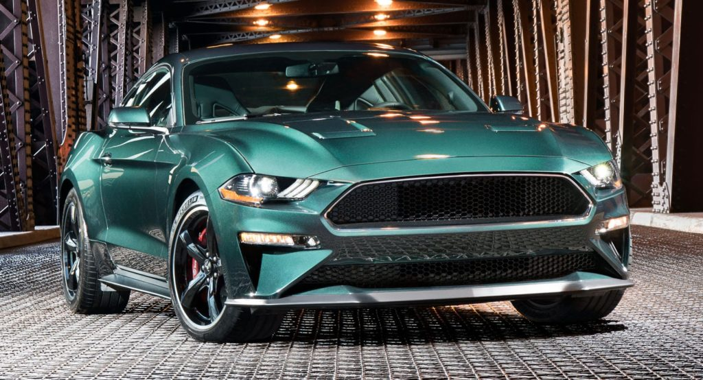 Ford Mustang, svelata la Bullit del 2019