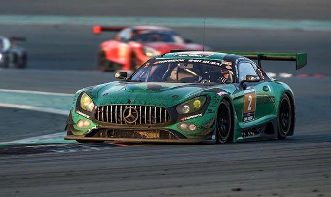 24 Ore di Dubai, Mercedes trionfa nella 13esima edizione