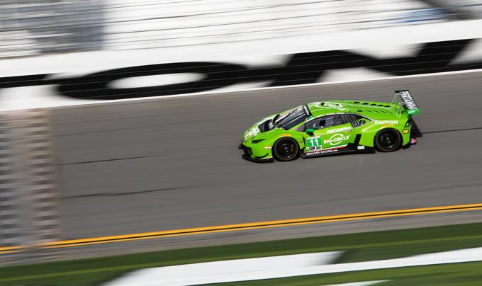 24 Ore di Daytona, Lamborghini svetta in classe GTD [VIDEO]