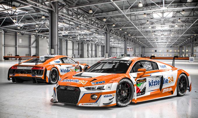 Audi Sport customer racing: al via la stagione 2018 con la 24 Ore di Dubai