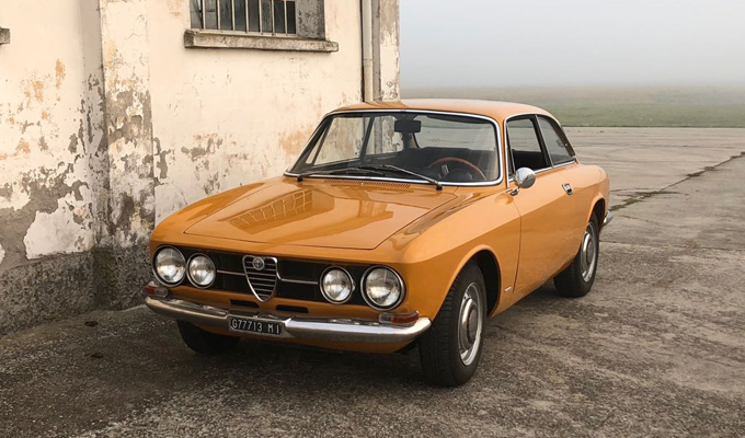 """Alfa Romeo 1750 Gt Veloce (1969): restaurata come se fosse la """"Gioconda"""""""