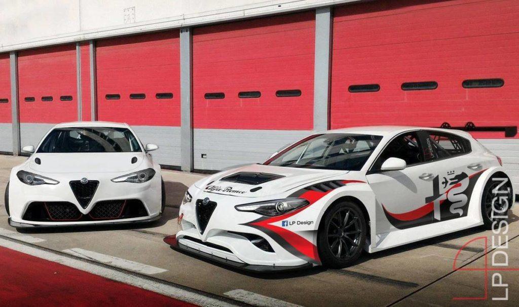 Nuova Alfa Romeo Giulietta: RENDERING con proiezione sportiva