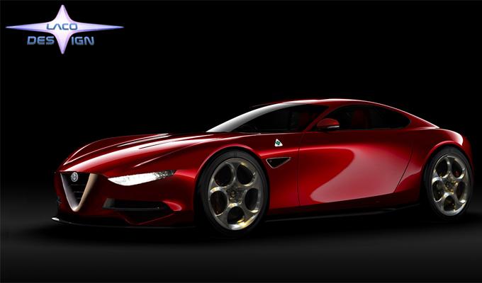 Alfa Romeo 6C: si torna a parlare di una nuova sportiva del Biscione [RENDERING]