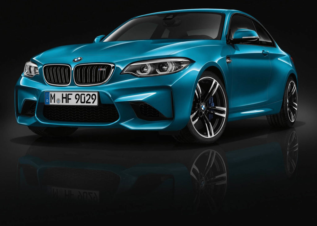 BMW M2 Competition attesa ad aprile 2018