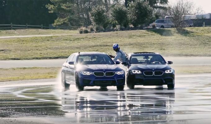 Nuova BMW M5: drifting da record siglato nell'arco di otto ore [VIDEO]