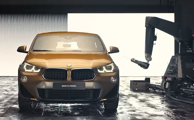 BMW X2 Rebel Edition: 5 esclusivi esemplari tatuati da Pietro Sedda [VIDEO]