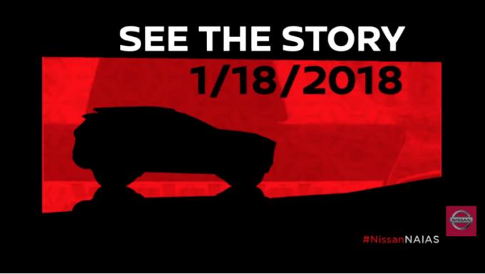 Nissan svelerà un inedito crossover al Salone di Detroit 2018 [VIDEO TEASER]