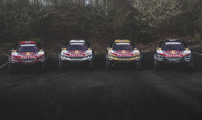 """Dakar, Peugeot: il """"Dream Team"""" punta alla vittoria nella 40esima edizione"""