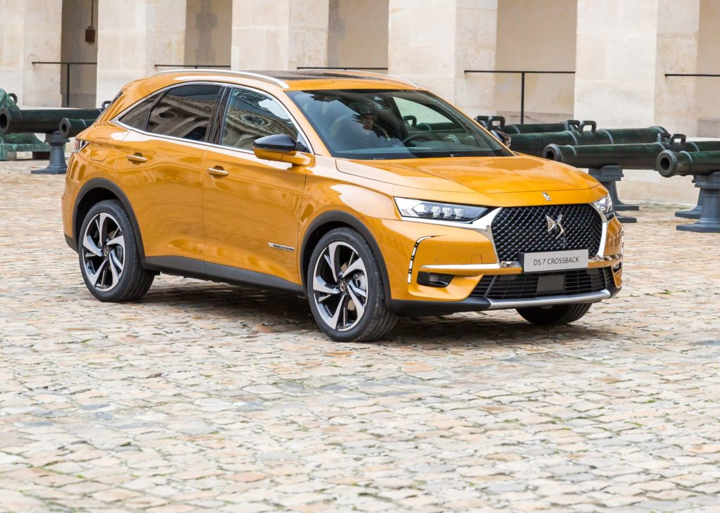 DS 7 Crossback protagonista al Festival Automobile International 2018