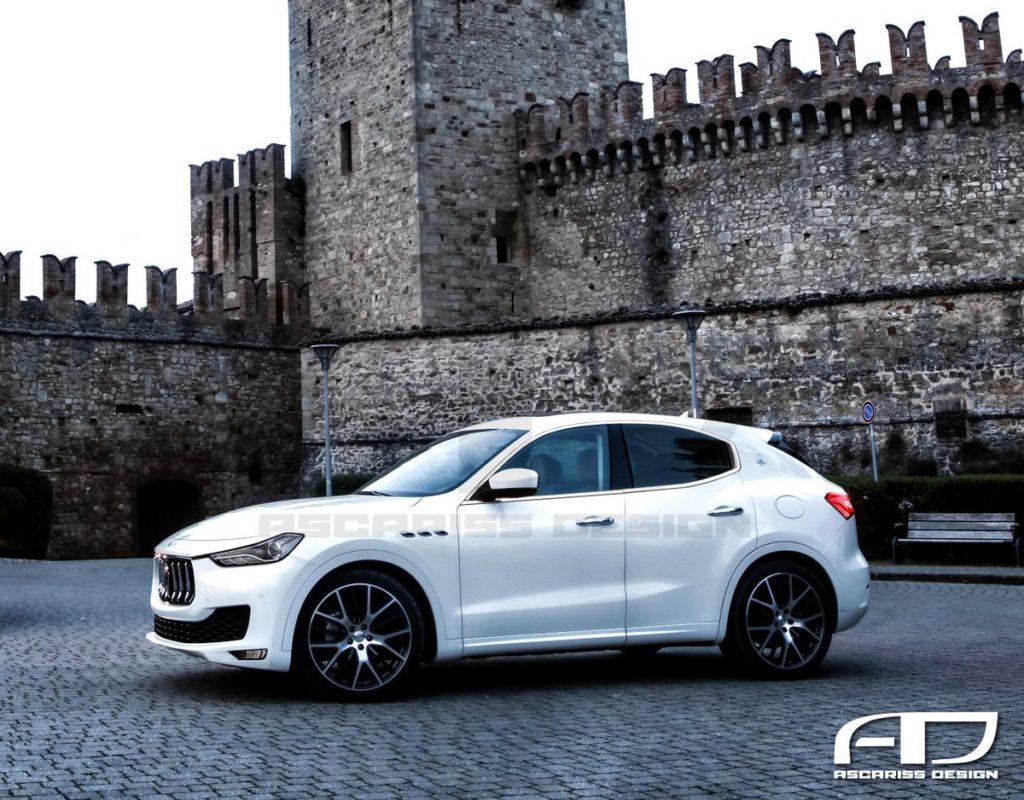 Maserati: il nuovo Suv compatto potrebbe essere così [RENDERING]