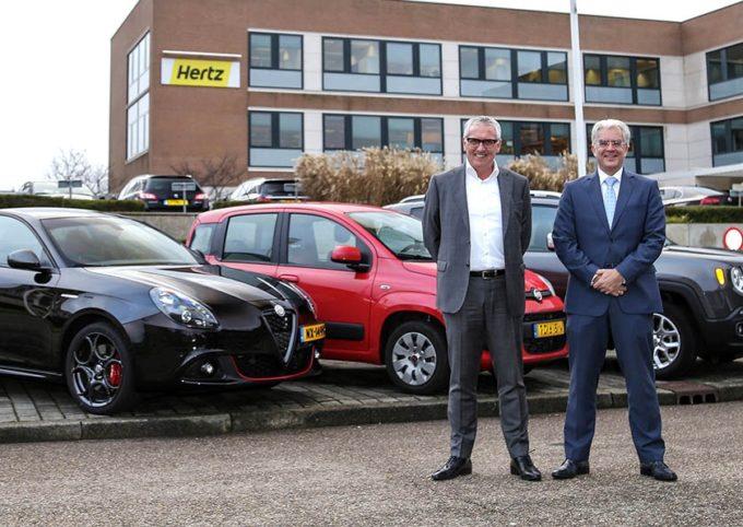 FCA ed Hertz celebrano i 40 anni di collaborazione in Olanda