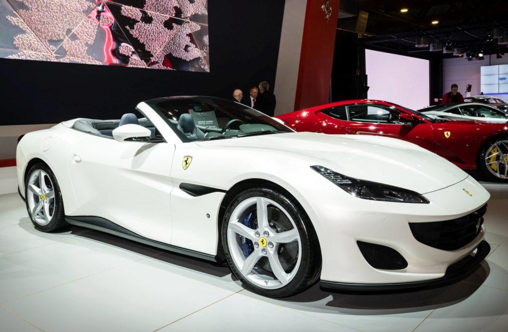 Ferrari Portofino al Salone di Bruxelles