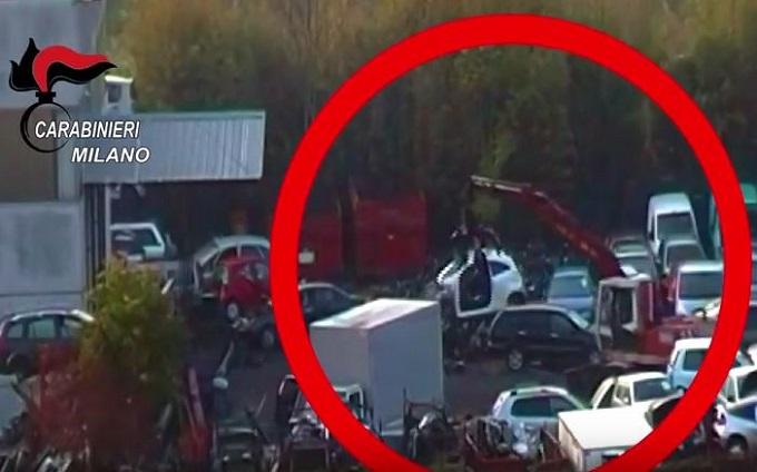 Sud Milano. I Carabinieri sgominano banda di ladri di auto, 14 arresti