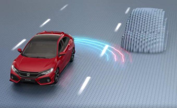 Honda Civic, così scansa i pericoli della strada [VIDEO]