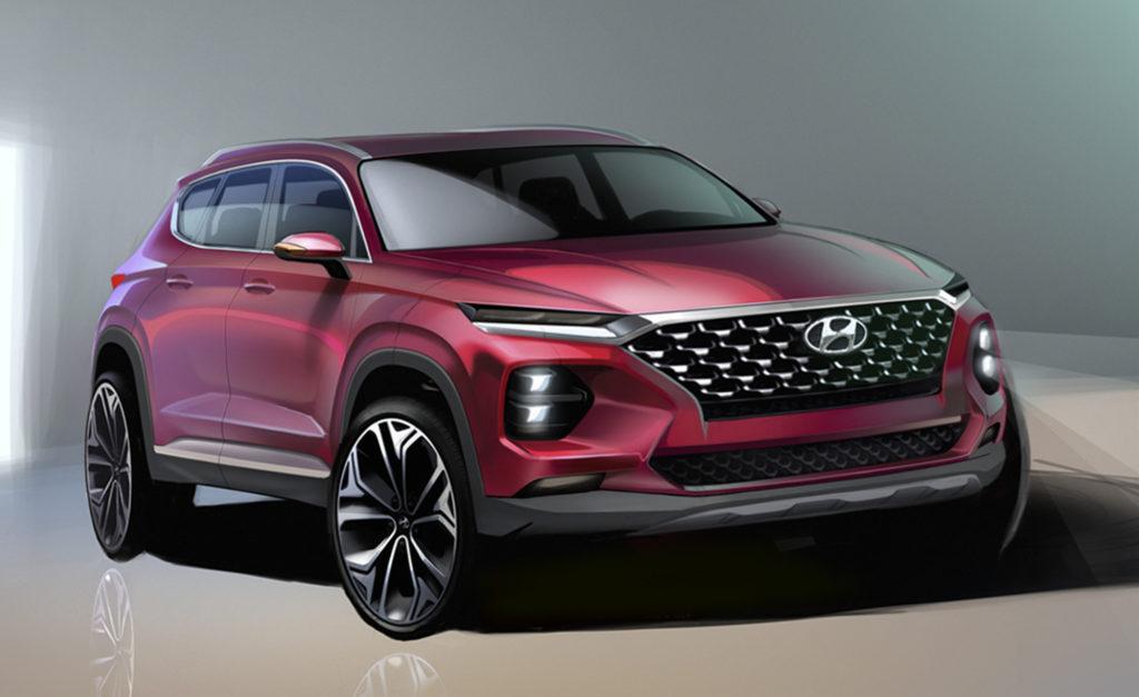 Nuova Hyundai Santa Fe: svelati i primi RENDERING