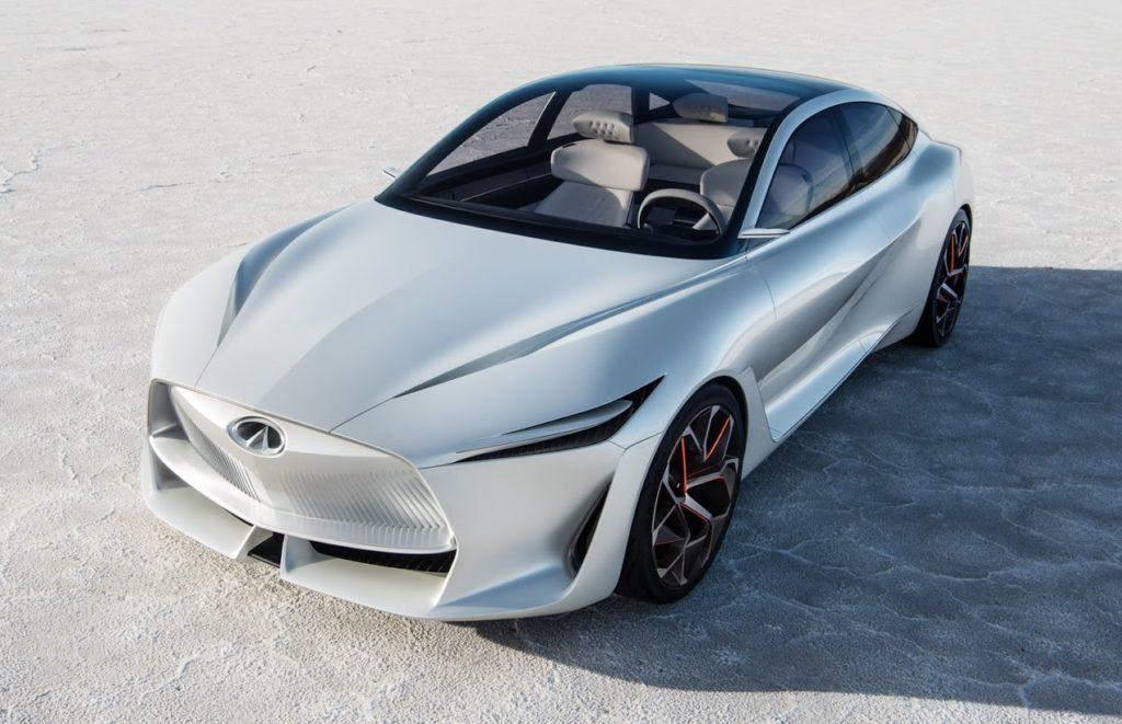 Infiniti Q Inspiration: svelato l'audace frontale della nuova concept car [TEASER]