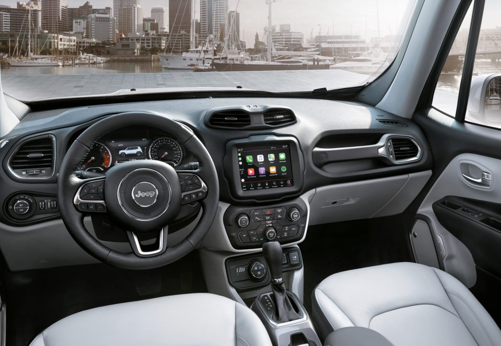 jeep renegade my 2018 novit per infotainment console. Black Bedroom Furniture Sets. Home Design Ideas