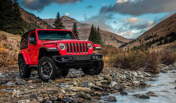 Jeep Wrangler 2018 sotto i riflettori del CES assieme alle novità tecnologiche di FCA