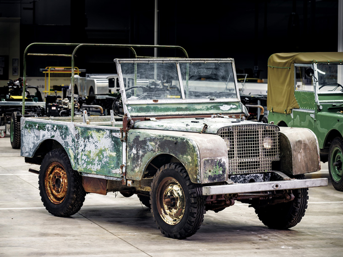 Ritrovato il primo Land Rover del 1948
