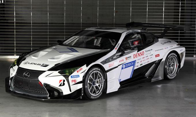 Lexus al Tokyo Auto Salon con una LC 500 modificata