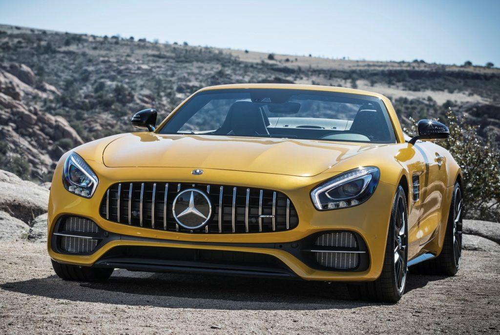 Mercedes AMG GT, con il facelift previsto un incremento di potenza del motore