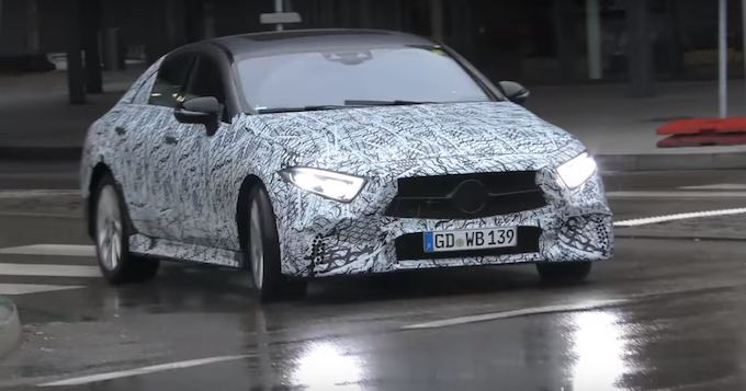 Mercedes AMG CLS 53: a Stoccarda non è passata inosservata [FOTO SPIA]