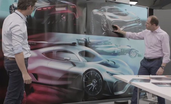 Mercedes-AMG Project One: vista con gli occhi di chi l'ha progettata [VIDEO]