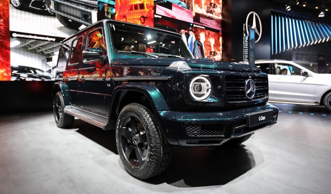 Mercedes-Benz Classe G - Salone di Detroit 2018