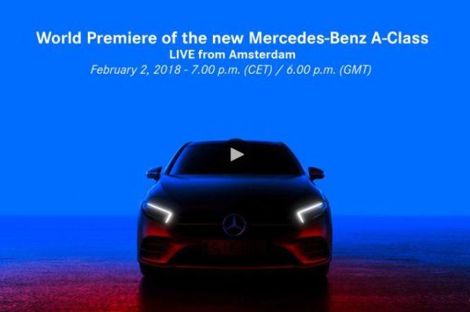 Mercedes Classe A MY 2019: la presentazione in anteprima mondiale [LIVE STREAMING]