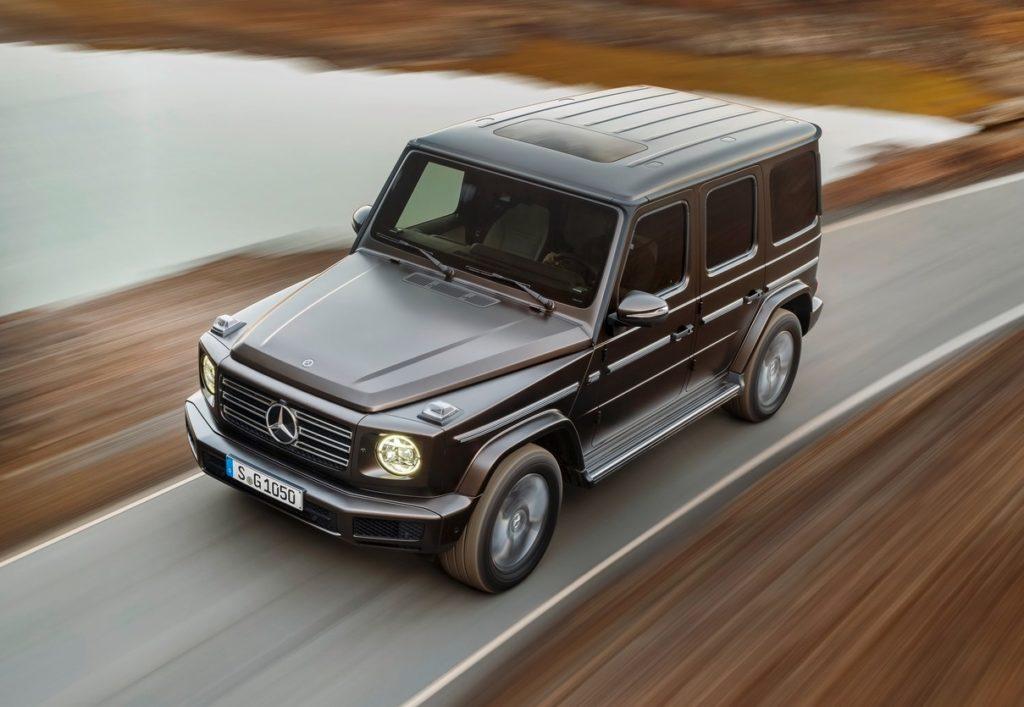 Mercedes-AMG G63 MY 2019 attesa al debutto al Salone di Ginevra 2018