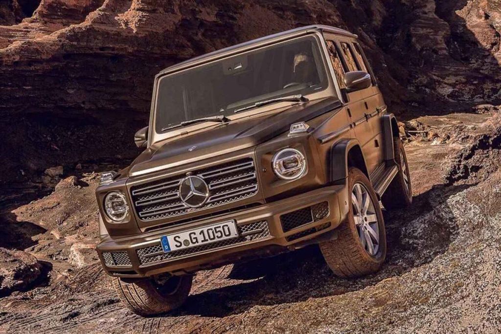 Nuova Mercedes Classe G: svelato il look in anticipo [FOTO LEAKED]