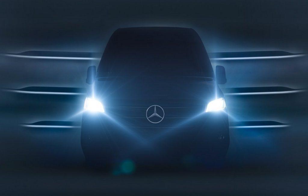 Mercedes Sprinter MY 2019: il debutto è fissato per il 6 febbraio [TEASER]