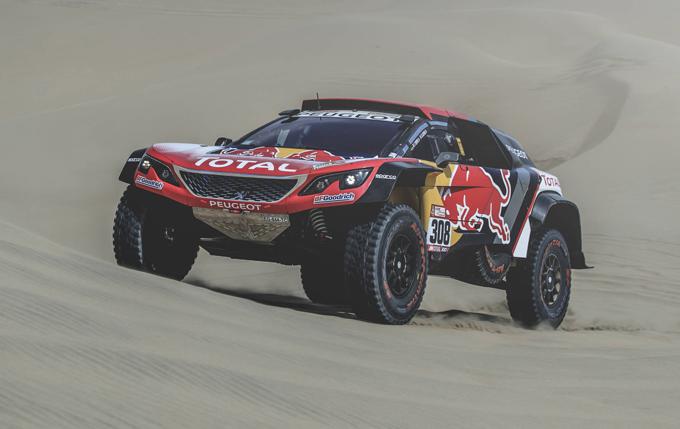 Dakar, Peugeot: Despres guida la tripletta nella seconda tappa [SPECIALE DAKAR]