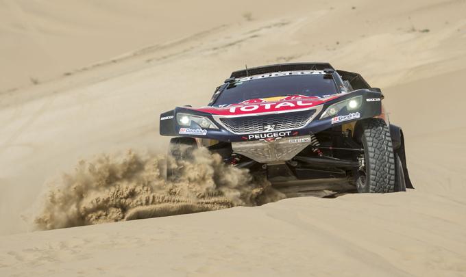 Dakar, Peugeot: Peterhansel agguanta il primato al termine della terza tappa [SPECIALE DAKAR]
