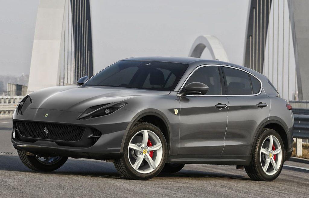 SUV Ferrari, ecco come potrebbe essere l'inedito crossover ...