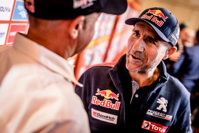 "Dakar, Peugeot: parola ai protagonisti del ""Dream Team"" [SPECIALE DAKAR]"