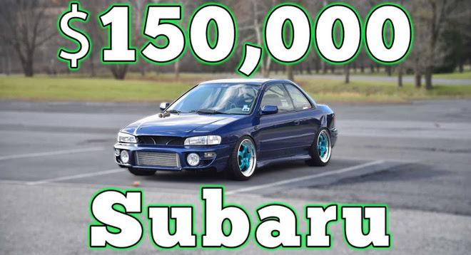 Subaru Impreza, oltre 100000 euro spesi in modifiche [VIDEO]