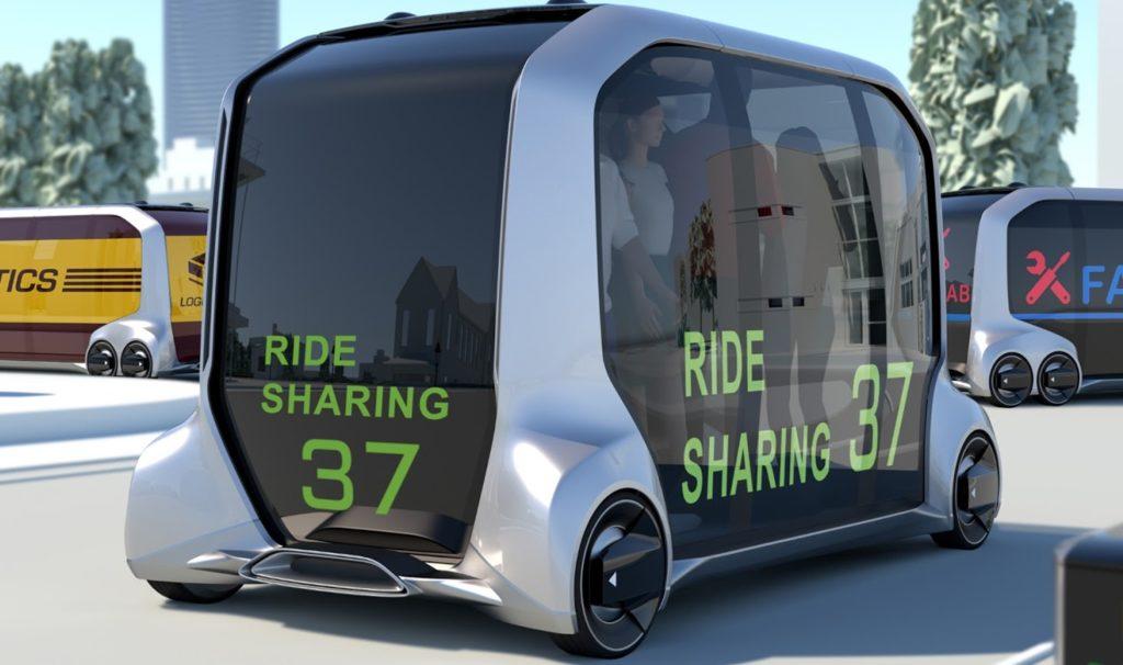Toyota, presentato il veicolo e-Palette a guida autonoma